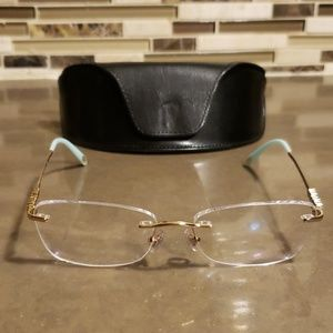 Tiffany & Co - Rimless Frameless Glasses TF1110